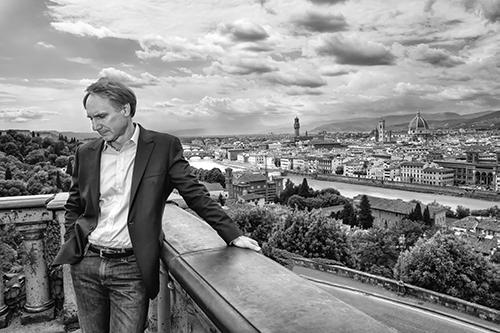 Dan Brown in Florence.